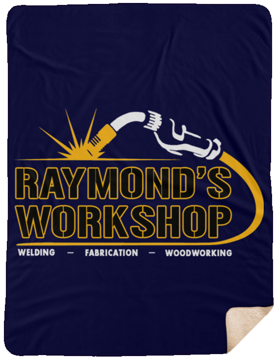 Raymond's Workshop Sherpa Blanket - 60x80