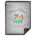 Close Shave Pet Grooming Woven Blanket - 60x80