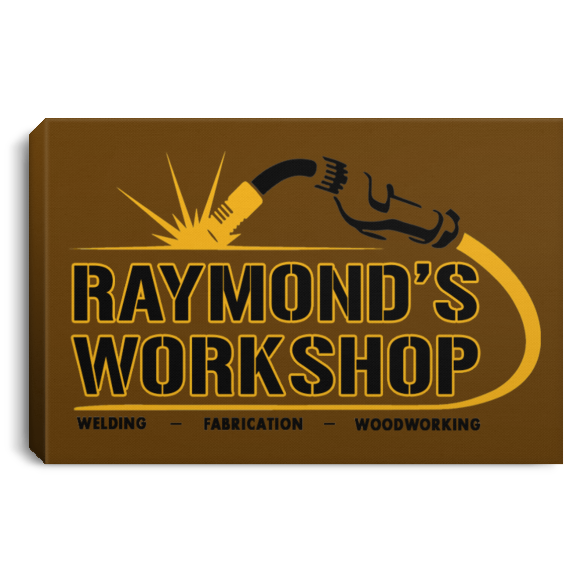 Raymond's Workshop Landscape Canvas .75in Frame