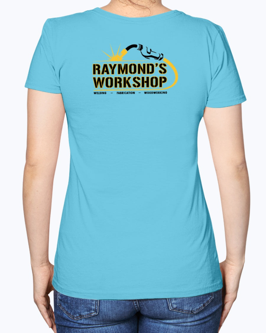 Raymond's Workshop Ladies Heavy Cotton T-Shirt
