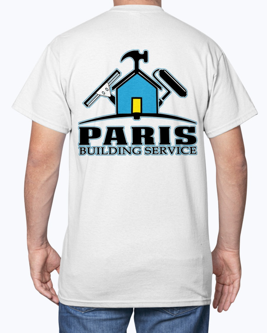 Paris Building Service REDUX T-Shirt