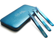 Limited Edition Hussle Blue Tweezer Collection