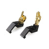 Golden Color Novelty Finger Iron Sight Set - Offset 45 Degree (Middle Finger & OK Hand)