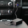 Stinger Car USB Hub Emergency Escape Tool: Life-Saving Safety Innovation, 7 Ports USB Car Charger, Spring Loaded Window Breaker, Seat Belt Cutter