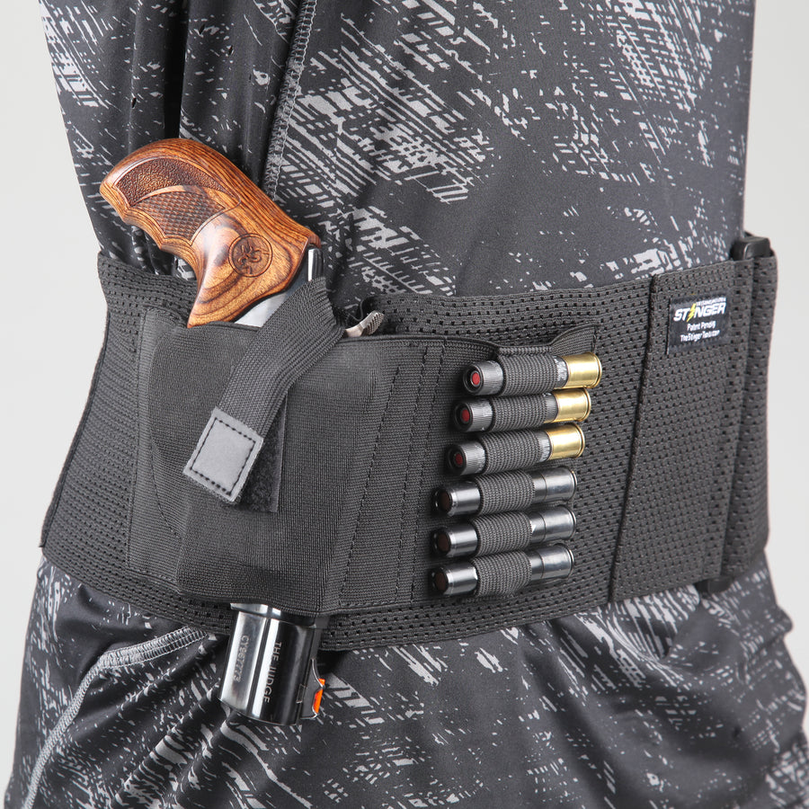Stinger Premium Ultra Breathable Belly Band Holster for Concealed Carry
