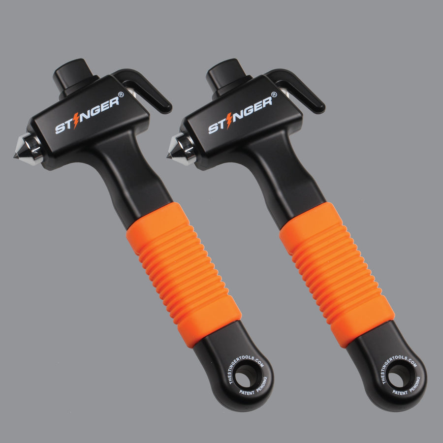 Stinger Super Duty Car Emergency Escape Hammer (2 pcs Bundle Deal)