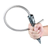 Stinger Whip Car Emergency Tool with Seat Belt Cutter (XL Gatekeeper Edition, Tungsten Grey)