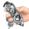 Personal Alarm Emergency Tool: Safety Alarm, Seat Belt Cutter, Glass Breaker (Camouflage Black)