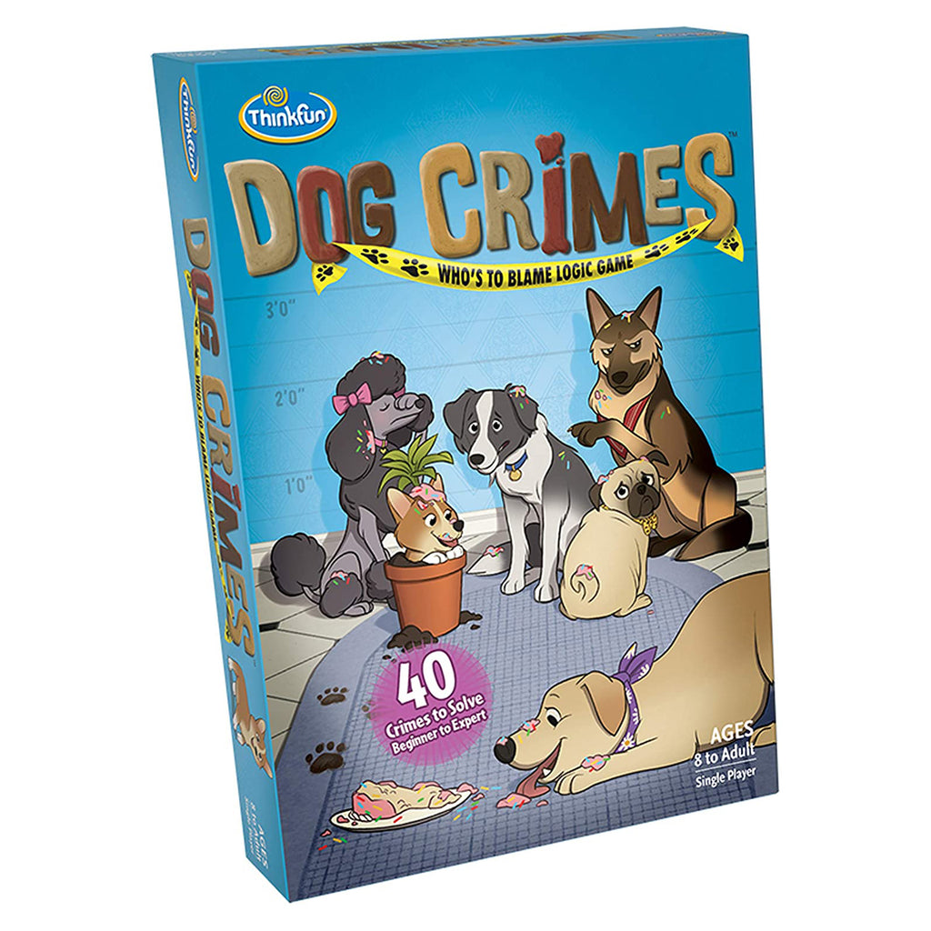 Dog Crimes Who's To Blame Logic Game