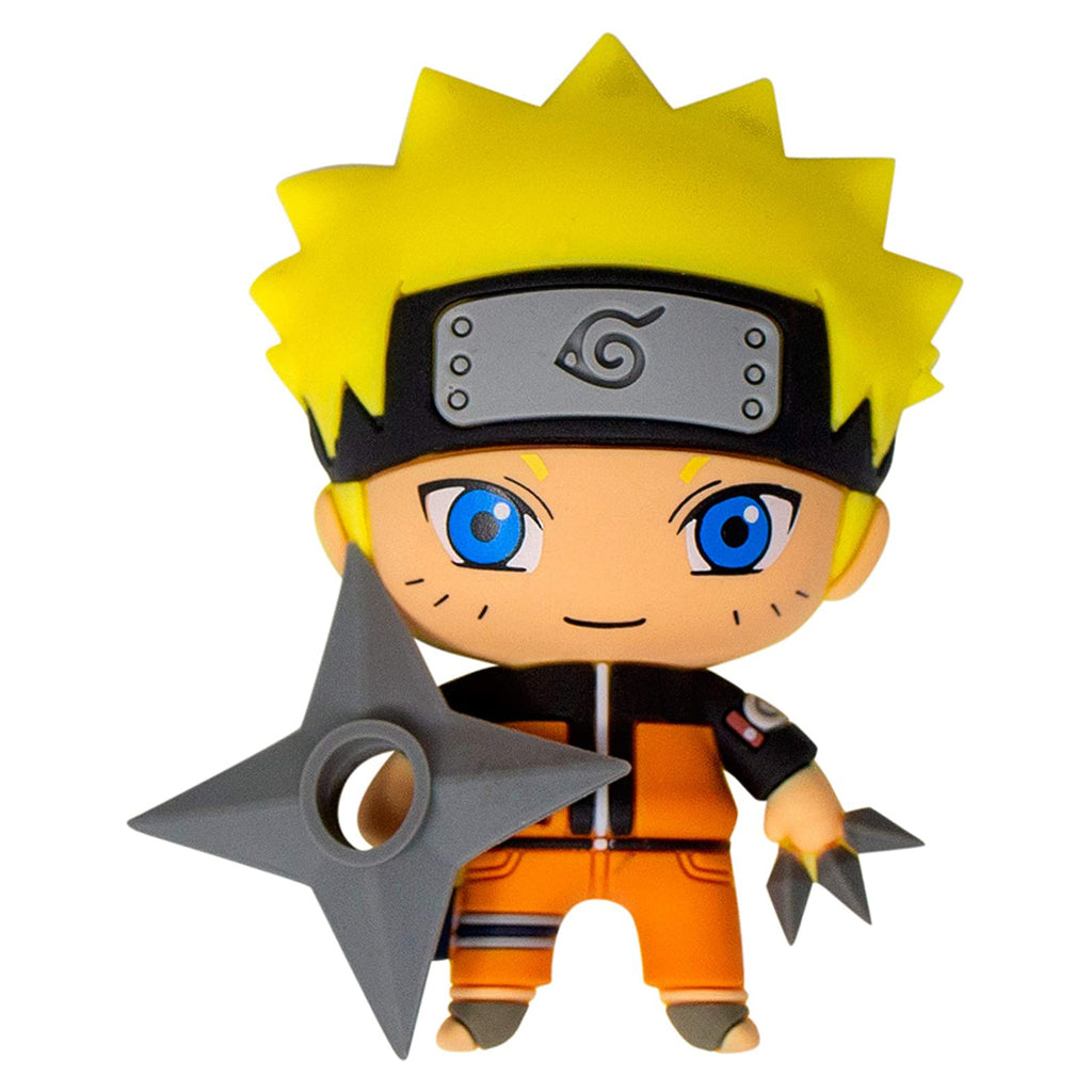 Naruto Character 3D Foam Magnet