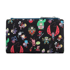 Loungefly Marvel Sy Chibi Characters Wallet