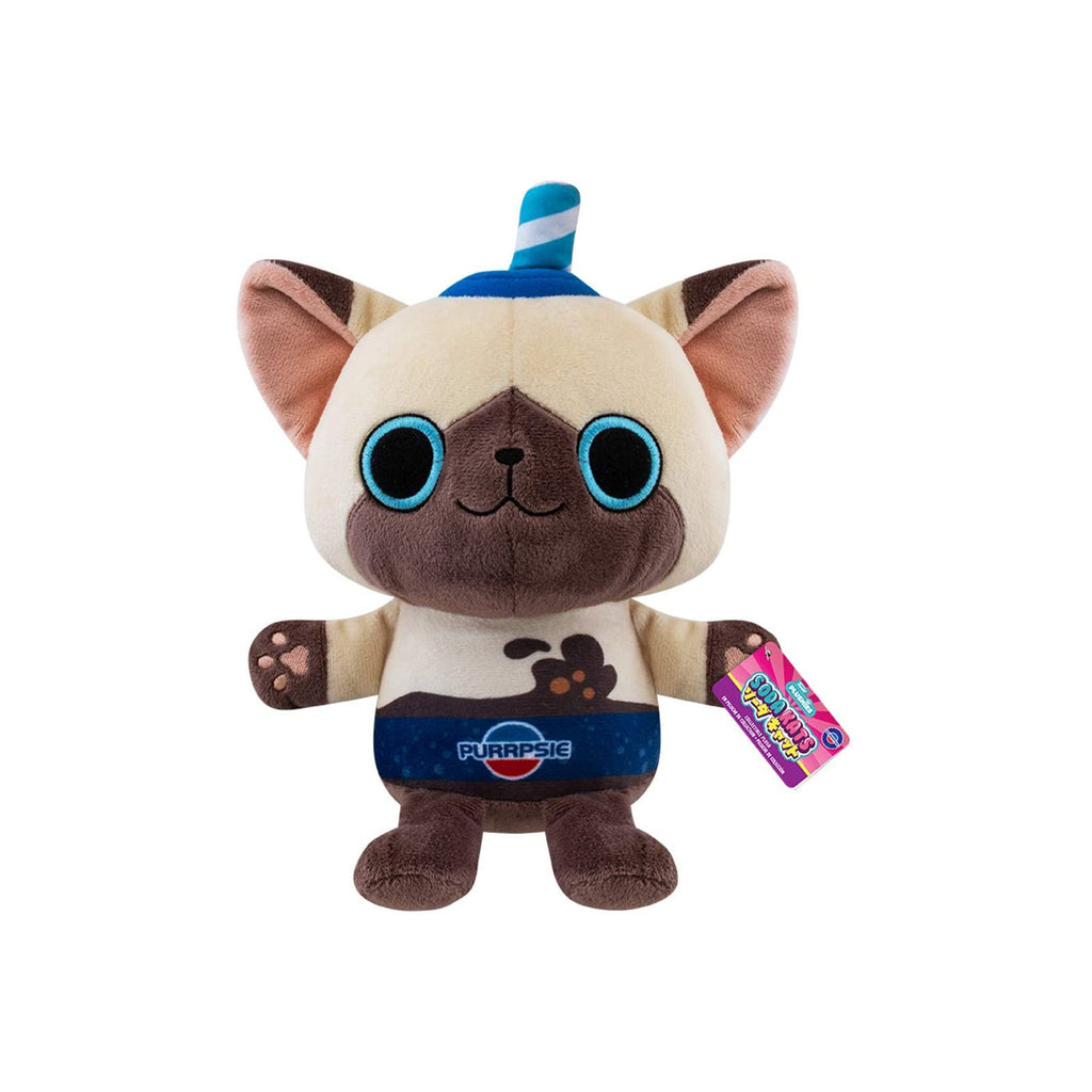 Funko Soda Kat 7 Inch Purpsie Plush Figure