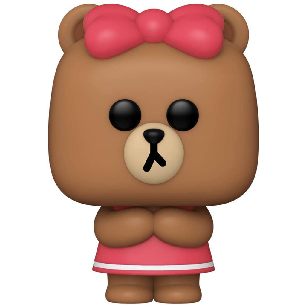 Funko Line Friends POP Choco Bear Vinyl Figure