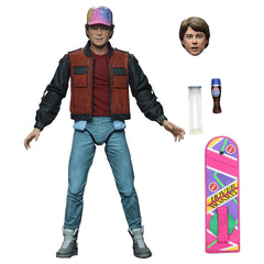 NECA Back To The Future Part II Ultimate Marty McFly Action Figure