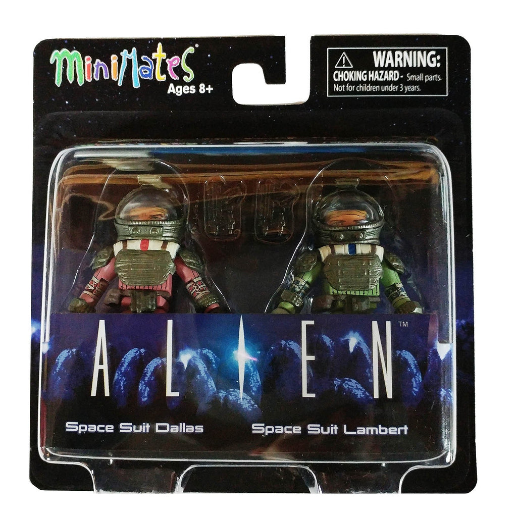 Action Figures - Minimates Alien Series 3 Space Suit Dallas And Lambert Figure Set