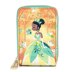 Loungefly Disney Princess & The Frog Tiana Accordion Wallet