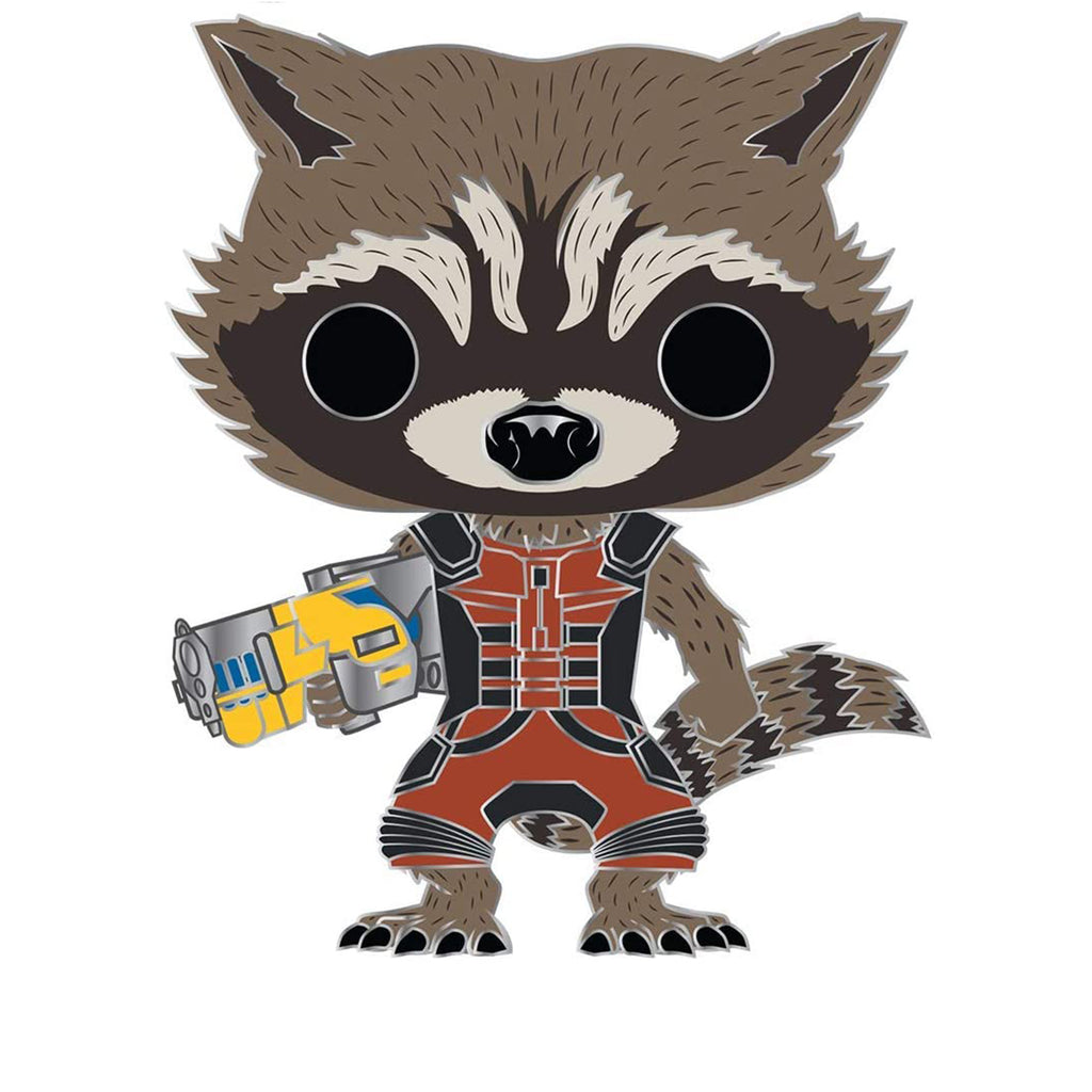 Funko Marvel Pop Pin Rocket Raccoon