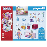 Playmobil City Life Fashion Accessories Building Set 70594