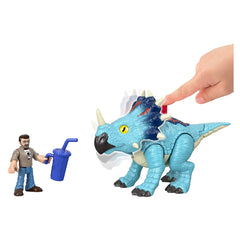 Jurassic World Imaginext Pachyrhinosaurus & Lowery Dinosaur Figure