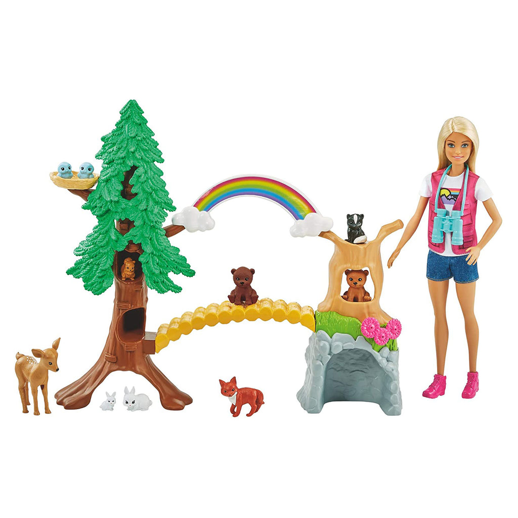 Barbie Wilderness Guide Interactive Play Set
