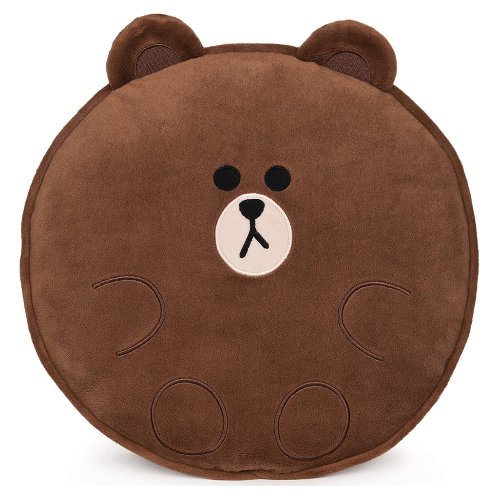 Gund Line Friends Brown Pillow 6058938