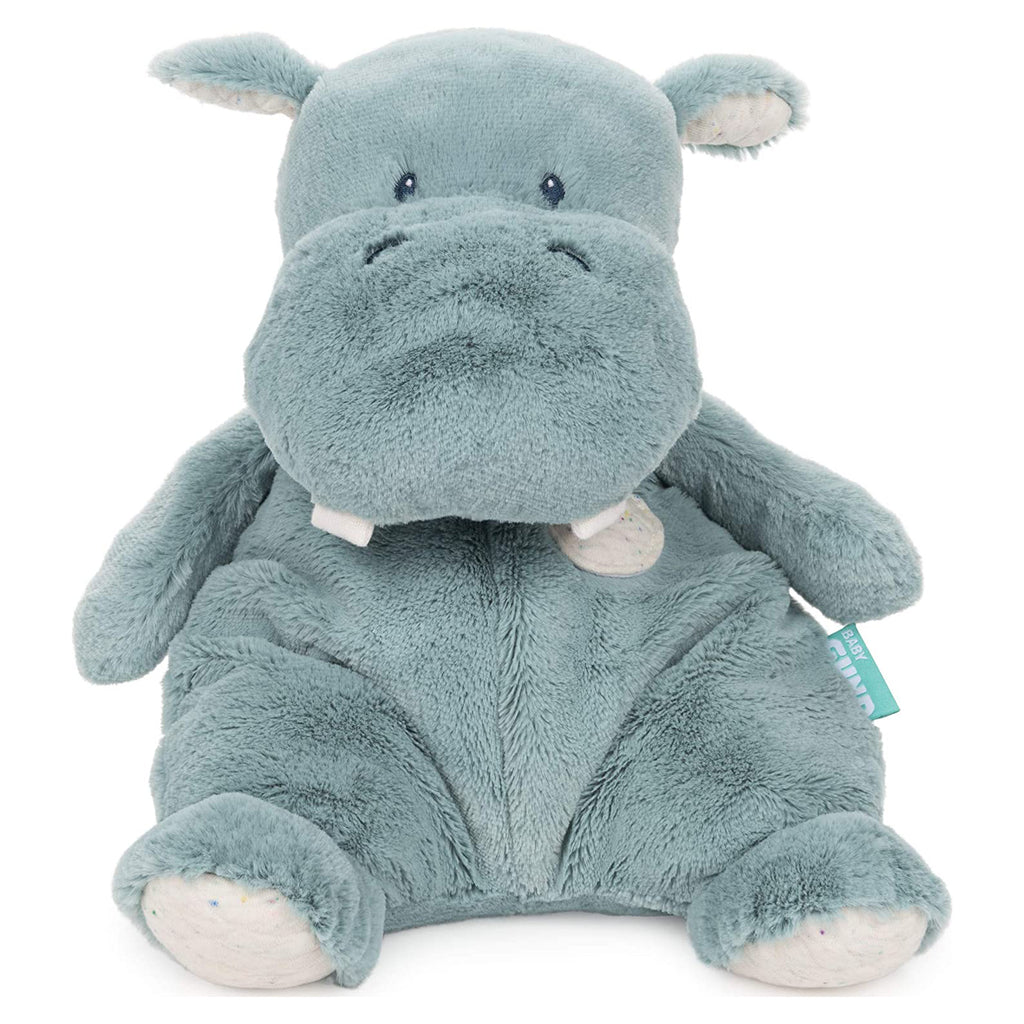 Gund Oh So Snuggly Hippo Plush Figure 6059317
