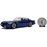 Jada Toys Stranger Things Billy's Chevy Camaro Z28 With Coin 1:24 Diecast Car