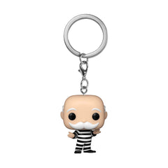 Funko Monopoly Pocket POP Criminal Uncle Pennybags Figure Keychain