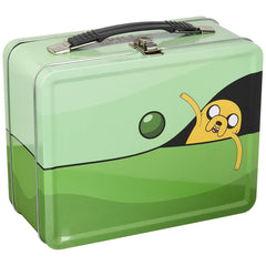 Lunch Boxes - Adventure Time Traveling Jake Tin Tote