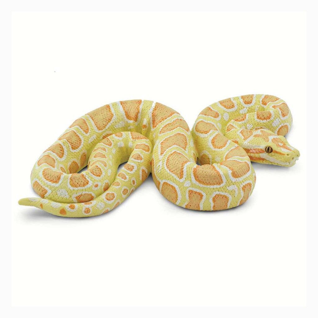 Albino Burmese Python Animal Figure Safari Ltd 100250