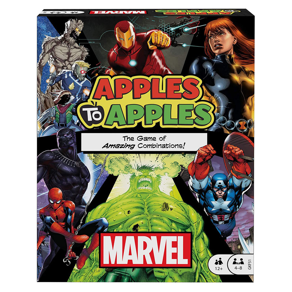 Apples To Apples Marvel The Game