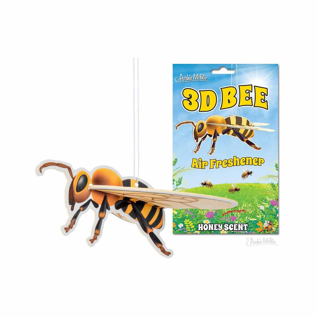 Archie McPhee 3D Bee Honey Scent Air Freshener