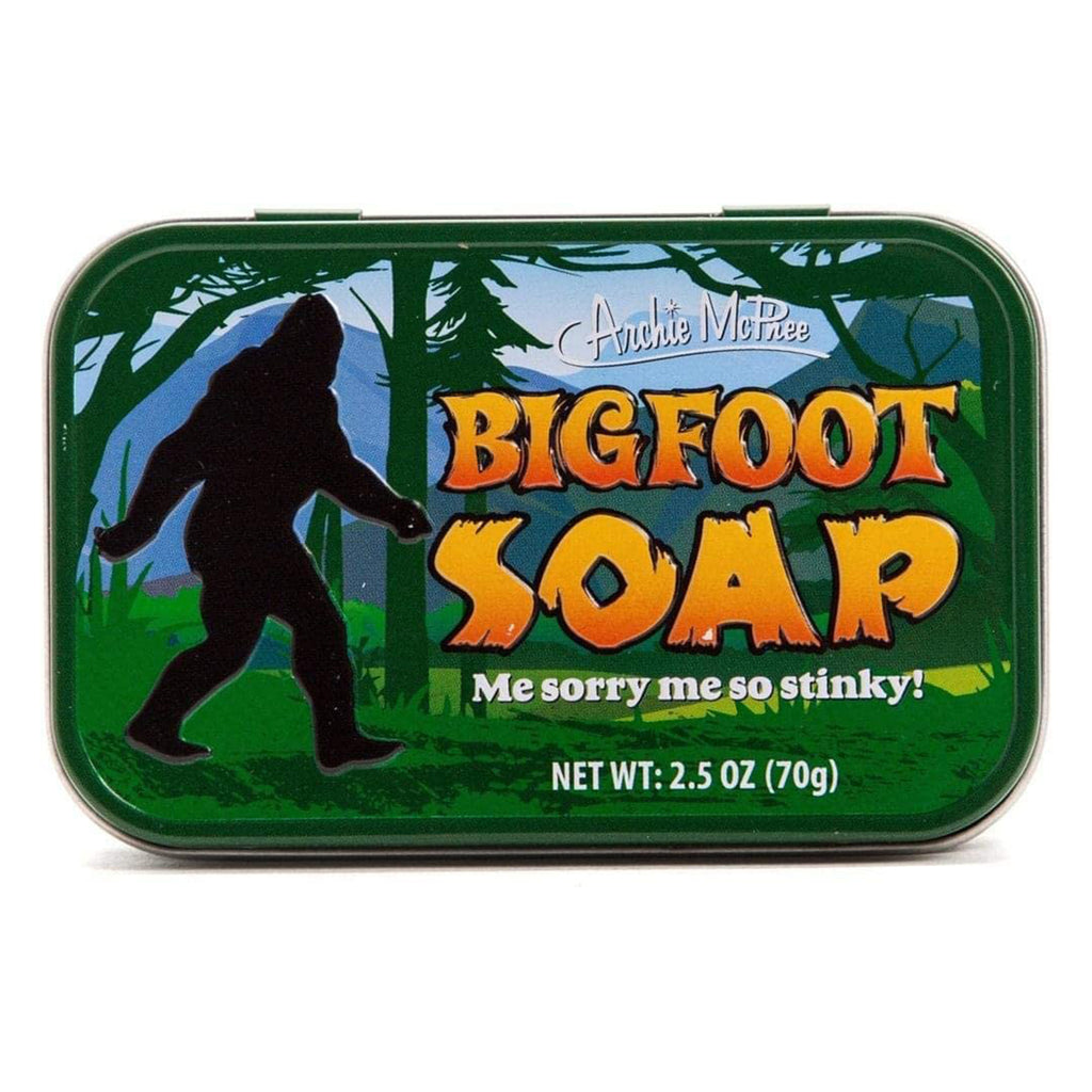 Archie McPhee Bigfoot Soap
