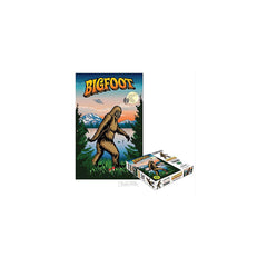 Archie McPhee I Believe In Bigfoot 1000 Piece Jigsaw Puzzle