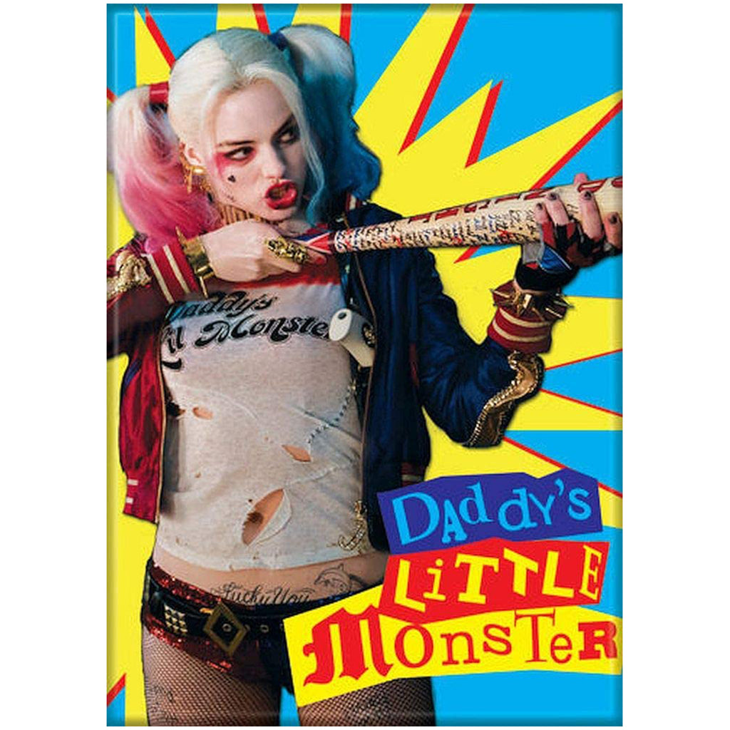 Ata-Boy DC Suicide Squad Daddy's Little Monster Magnet