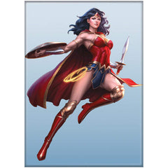 Ata-Boy DC Wonder Woman Art Germ Magnet