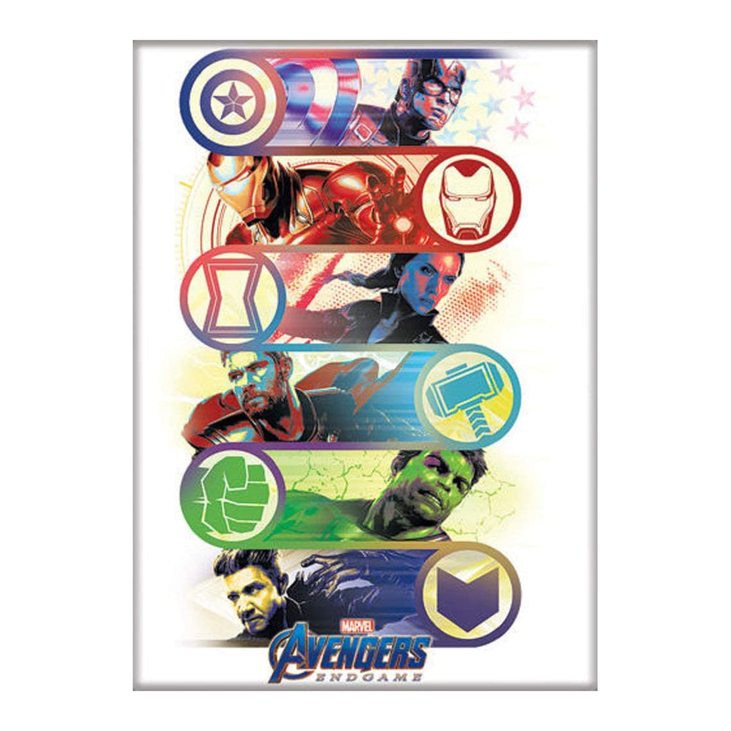 Ata-Boy Marvel Avengers Endgame Group With Emblem Magnet
