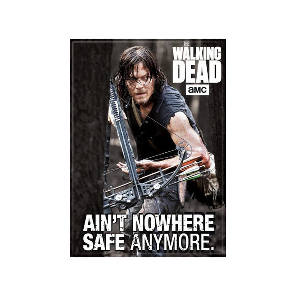 Ata-Boy Walking Dead Ain't Safe Anymore Magnet