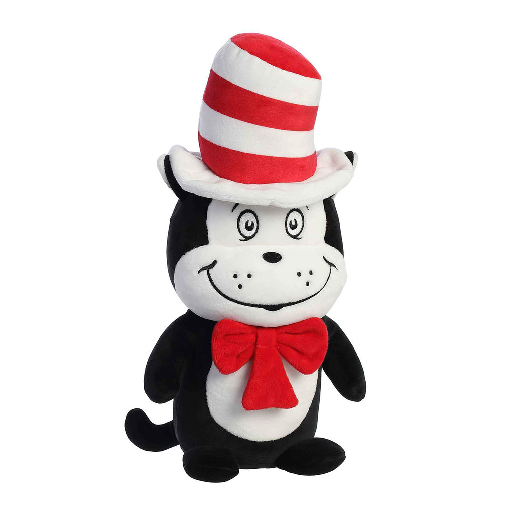 Aurora Dr Seuss Cat In The Hat Squishy 9.5 Inch Plush