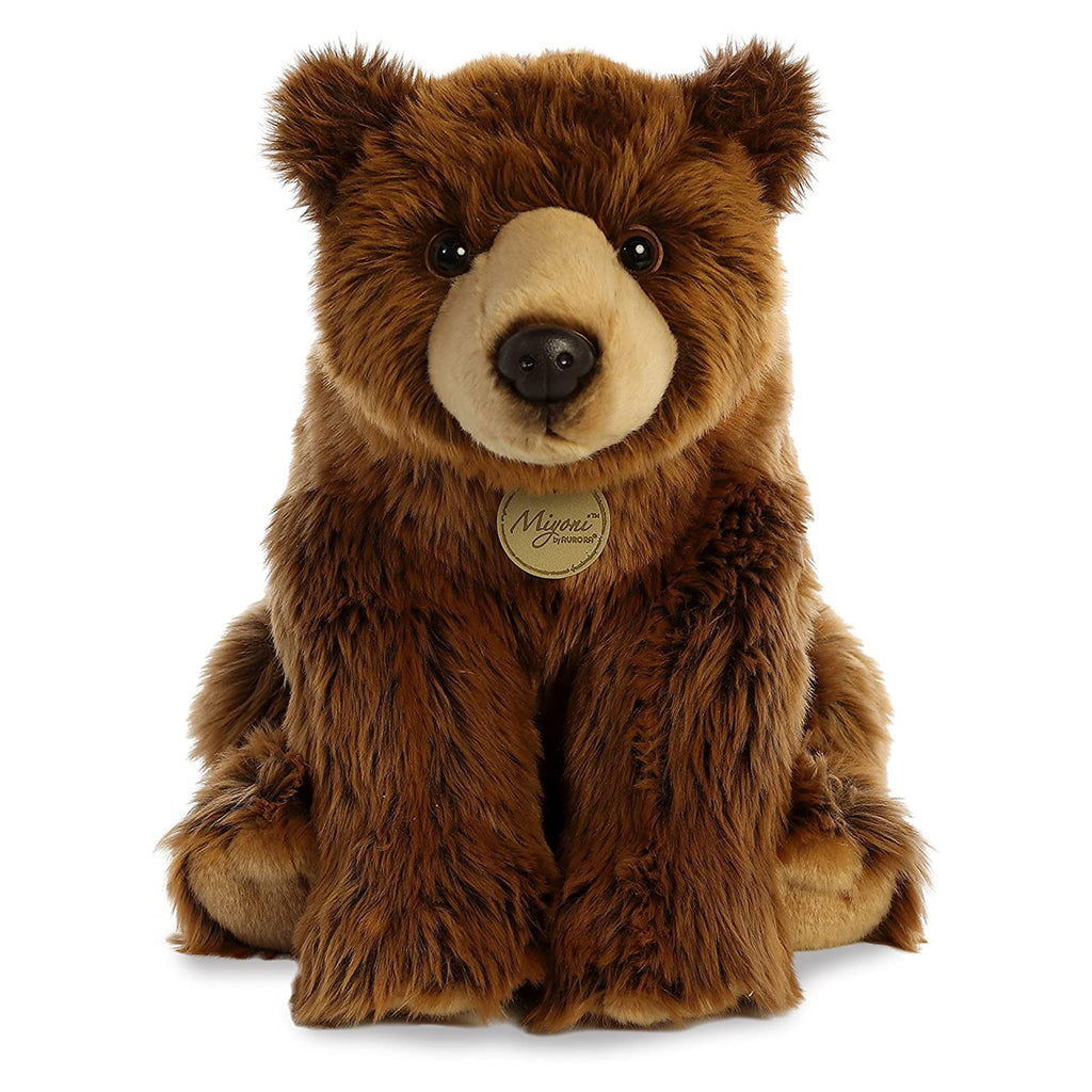 Aurora Miyoni Grizzly 15 Inch Plush