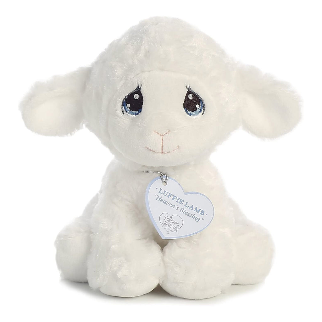 Aurora Precious Moments Luffie Lamb 8.5 Inch Plush