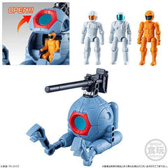 Bandai Gundam Micro Wars 3 RB-79 Ball With Pilots Figure