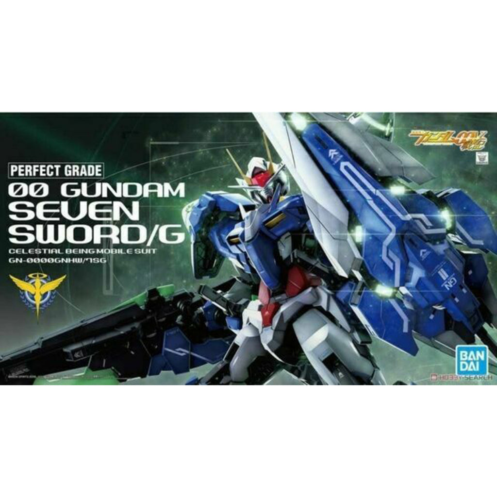 Bandai Gundam Perfect Grade 00 Gundam Seven Sword Celestial Being Model Kit