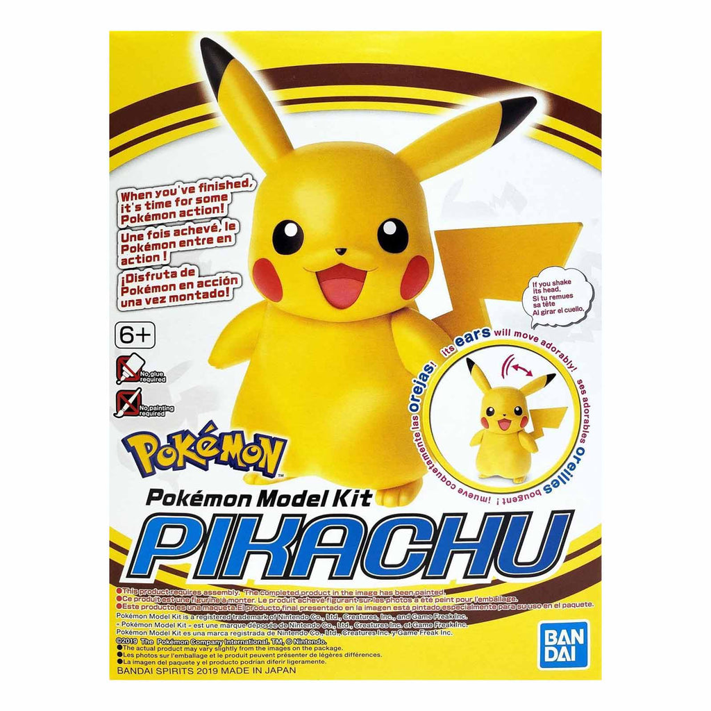 Bandai Pokemon Pikachu Model Kit