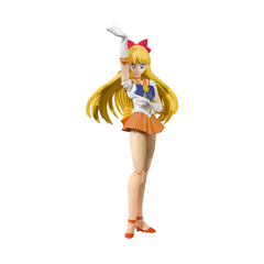 Bandai Sailor Moon Sailor Venus Animation Color Edition SHFiguarts Figure