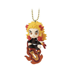 Bandai Twinkle Dolly Demon Slayer Kimetsu No Yaiba Kyojuro Rengoku Charm