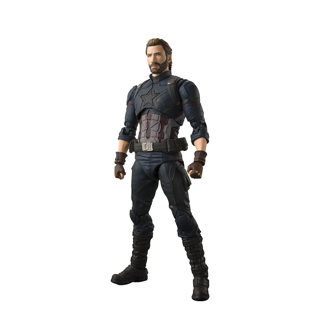 Bandai Avengers Captain America And Effects Figuarts Action Figure Set