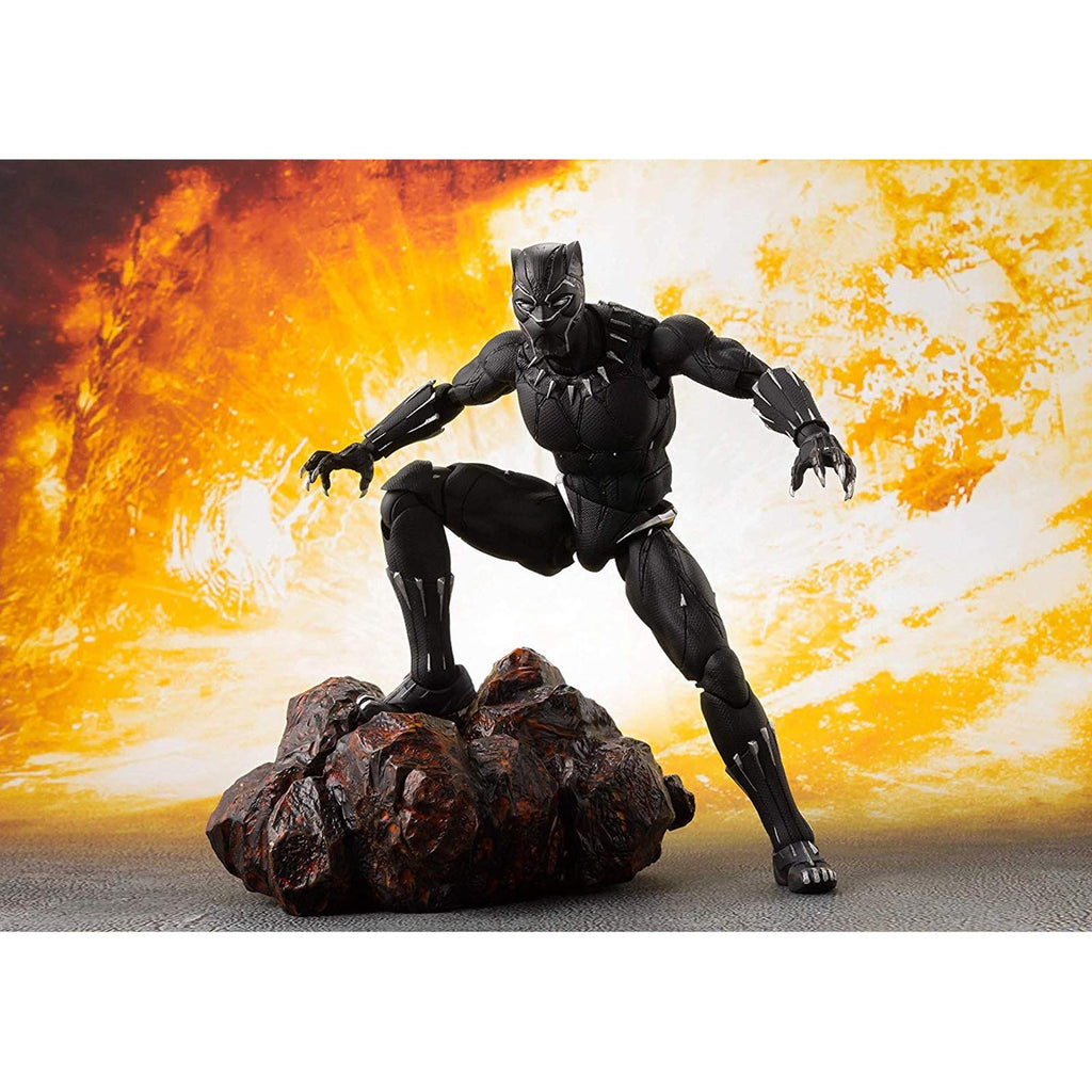 Bandai Avengers Infinity War Black Panther Figuarts Action Figure