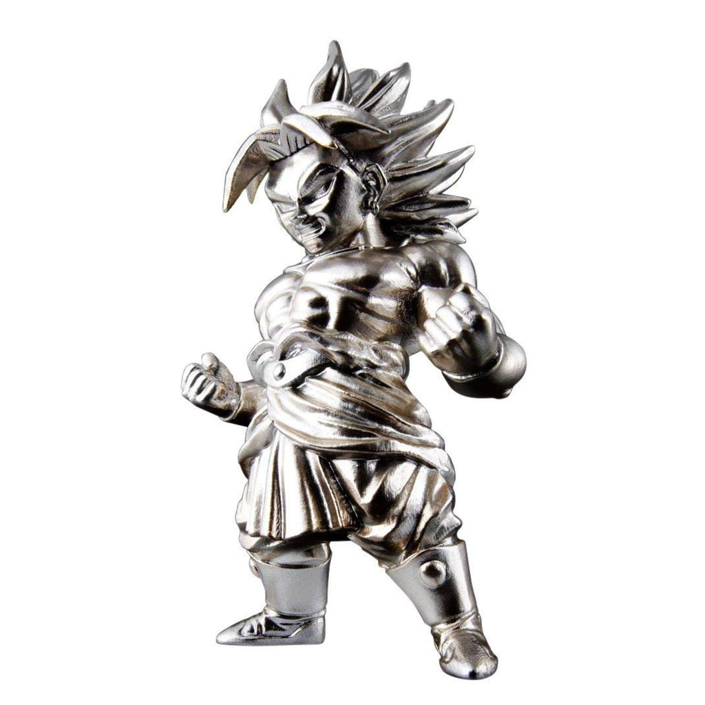 Bandai Action Figures - Bandai Dragon Ball Z Chogokin Super Saiyan Broly Metal Mini Figure