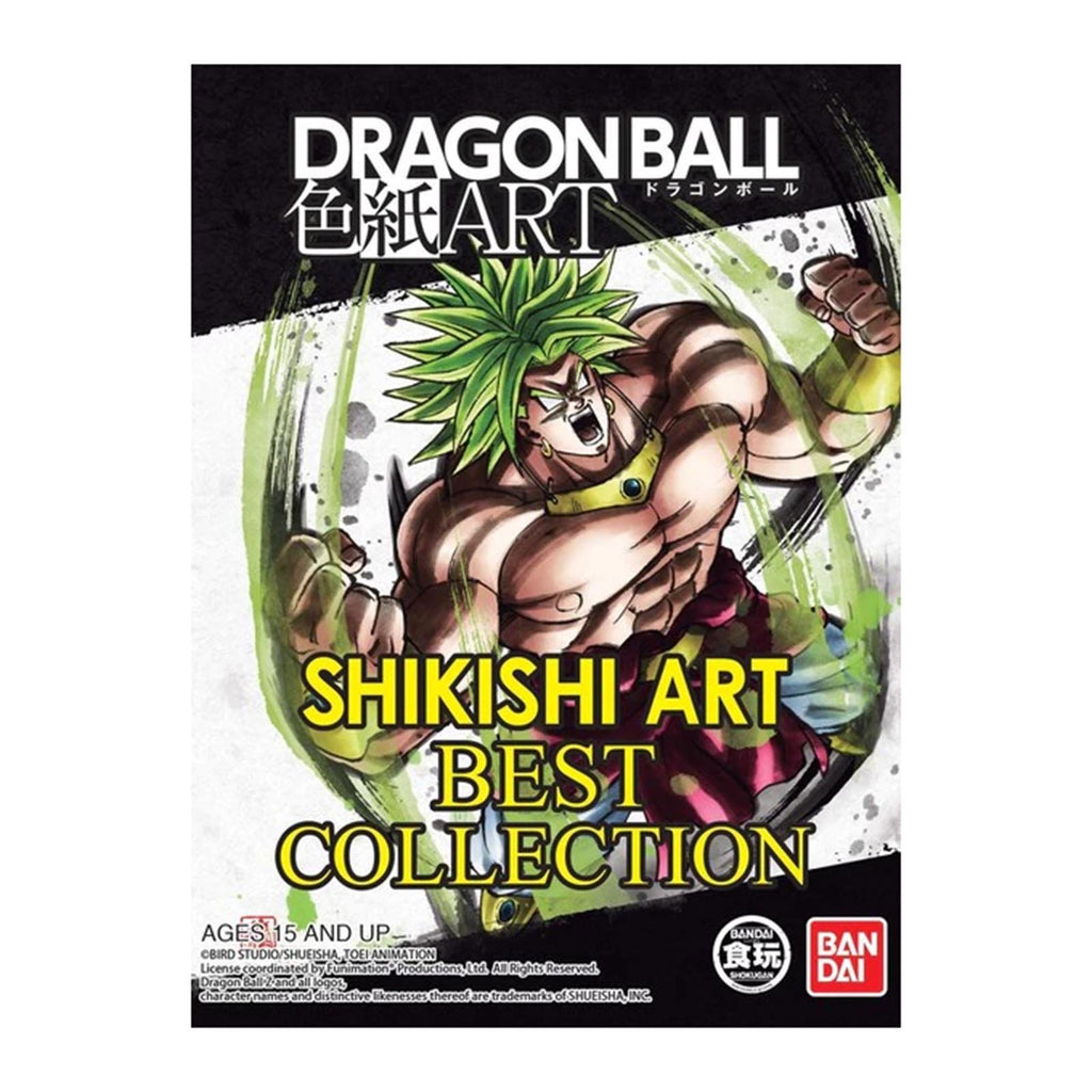 Bandai Dragon Ball Z Super Shikishi Art Best Collection ART Blind Pack